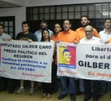 Denuncian que Gilber Caro es torturado en Tocuyito