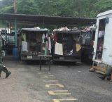 GNB habilita oficinas en comandos y camiones para detenidos