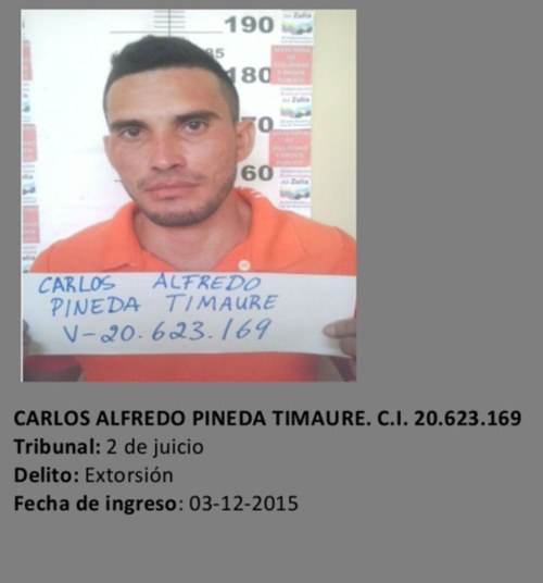 CICPC liquida a fugado del retén de Cabimas