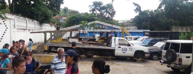 GNB irrumpió en calabozos de Poliplaza