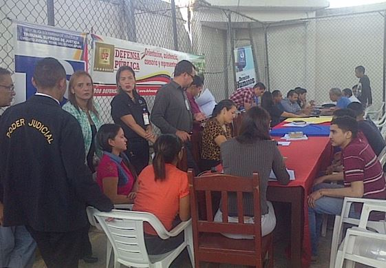 Operativo judicial para minimizar hacinamiento en PoliApure