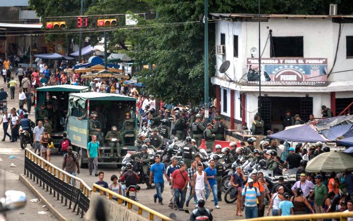 14 presos se fugaron de módulo de la Guardia Nacional ubicado en Petare