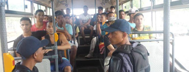 Falcón: Trasladan 23 reos a calabozos de Polifalcón de Punto Fijo y Tucacas