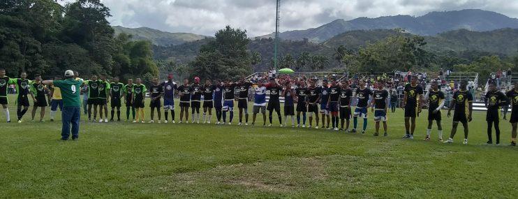 Aragua: 400 reclusos de 13 centros penitenciarios participaron del torneo nacional de rugby