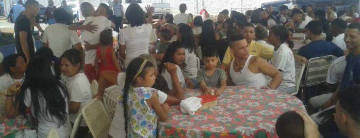 """Carabobo:""""Día del compartir navideño"""" tuvieron privados de libertad de la policía municipal de Guacara"""