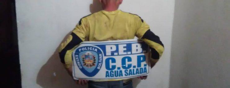 Recapturaron a hombre que se fugó de CCP Agua Salada en Bolívar