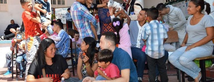 Mérida: Luego de la navidad privados de libertad del CDP de PoliMérida recibieron la visita de sus hijos y familiares