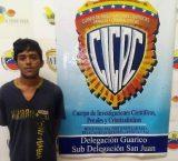 Guárico: Cicpc capturó a uno de los evadidos de la subdelegación San Juan