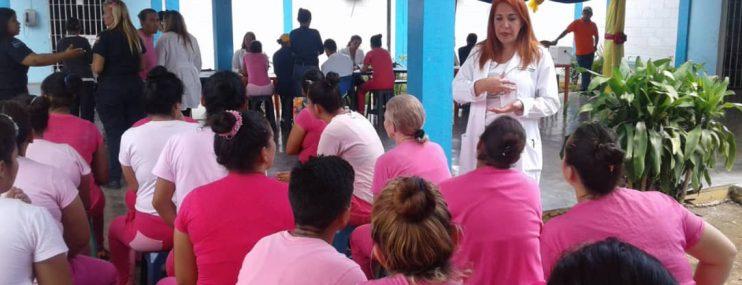 Atenderán salud de privadas de libertad en Internado de San Antonio en Nueva Esparta