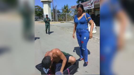 Anzoátegui: Intentan sacar a un privado de Puente Ayala en el interior de una maleta