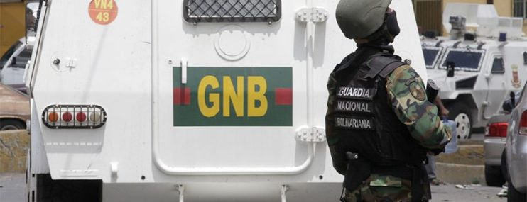 Caracas: Detenidos en comando de la GNB en Coche tenían secuestrado a un militar