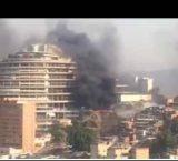 Caracas: Se registra incendio en las inmediaciones de El Sebin de El Helicoide