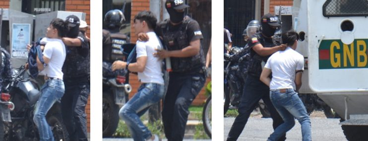 Lara: En containers tiene privados de libertad a los protestantes