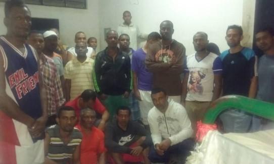 Caracas: Fueron deportados a su país 59 colombianos que estuvieron presos casi tres años