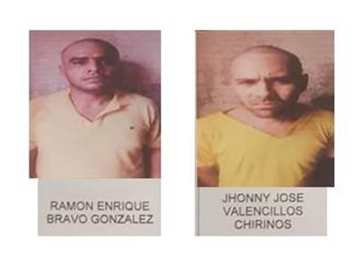 Recapturan los dos últimos de los once evadidos de la GNB en Dabajuro