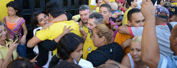 Lara: Excarcelados luego de protestar contra el gobierno