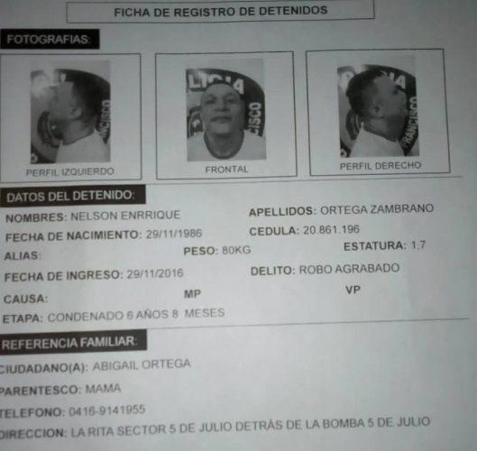 Zulia: Se escapan seis reclusos de los calabozos de Polisur