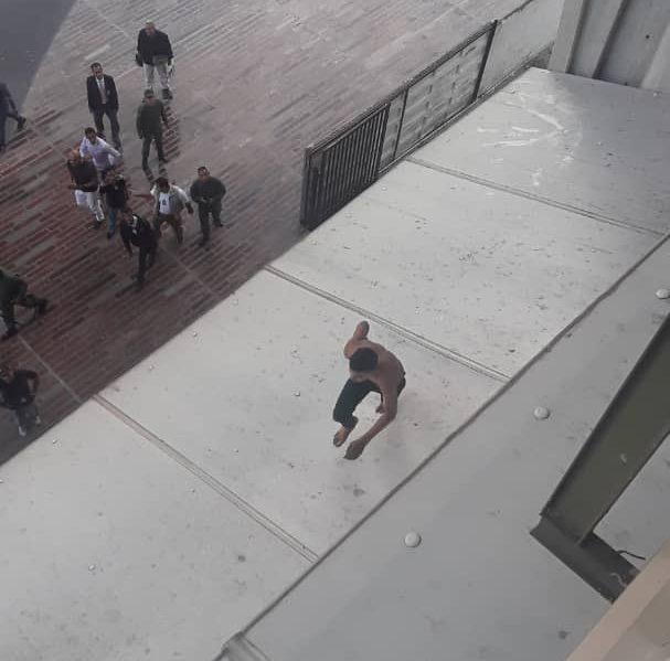 Caracas: Frustraron fuga de preso detenido por homicidio que era presentado en tribunales