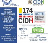 Una Ventana a la Libertad denunciará en la CIDH crisis penitenciaria en Venezuela