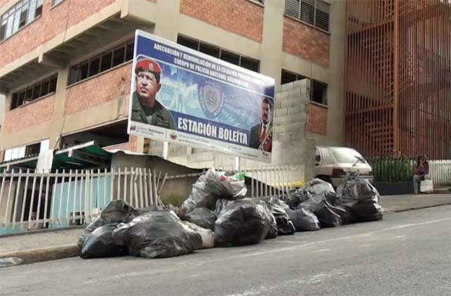 Caracas: Denuncian que funcionarios de Las FAES agredieron a detenidos en la PNB de Boleíta