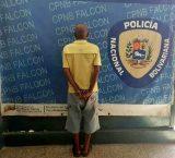 Falcón: Preso fue detenido luego de ocho años en fuga
