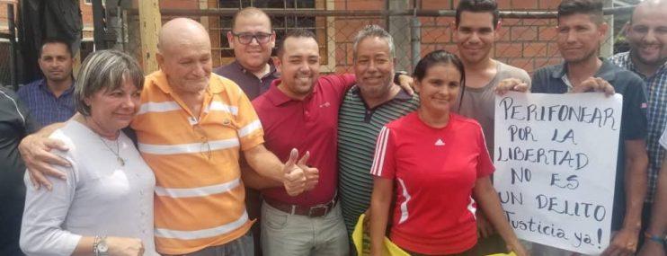 En libertad plena los cinco ciudadanos detenidos en El Vigía estado Mérida mientras hacían convocatoria a marcha opositora del 10 de marzo