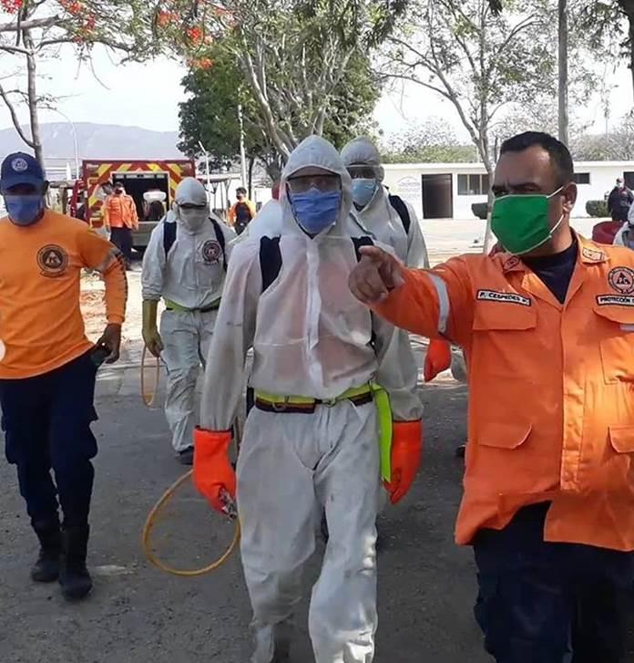 Centros de Detención de Coro fueron desinfectados para evitar el Covid-19