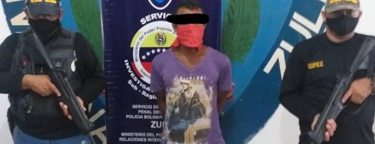 Zulia: Recapturan a evadido del retén de San Carlos