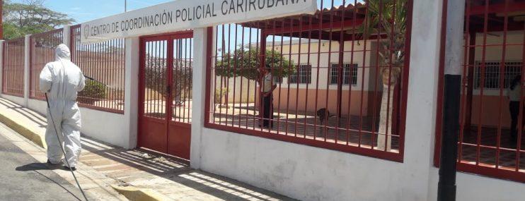Falcón: Sede de Policarirubana fue desinfectada