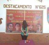 Detienen a mujer que intentó ingresar droga a sitio de reclusión en Ciudad Guayana