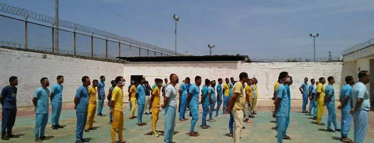 Lista de traslado de reclusos desde el Cepella hasta Puente Ayala