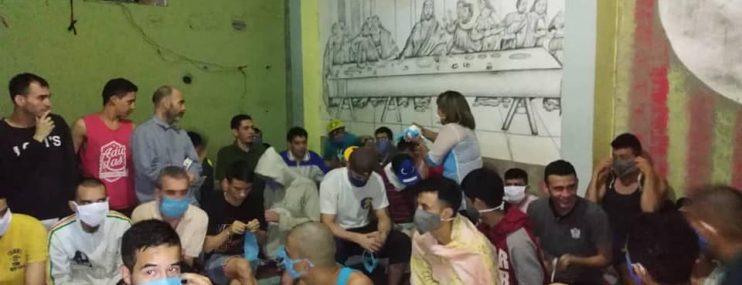 Autoridades de salud realizaron pruebas rápidas a funcionarios de la policía de Mérida para descartar Covid-19