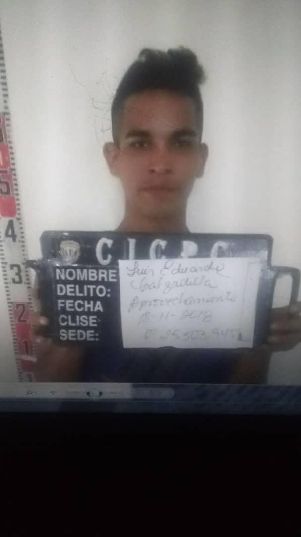 Se fuga preso de la PNB en Monagas