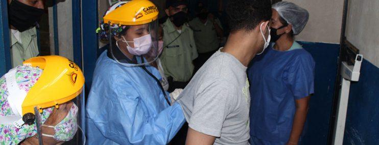 MIRANDA: 59 privados de libertad recibieron vacunación en Carrizal