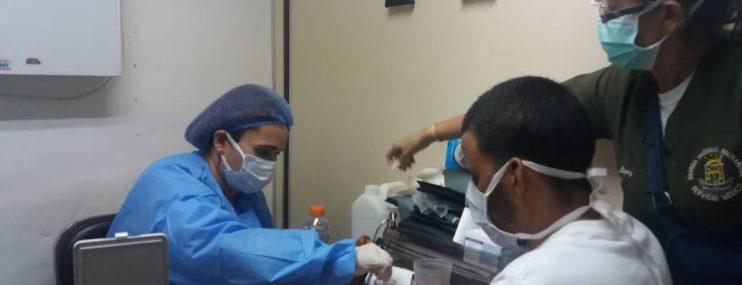 FALCÓN: Presos de la GNB de Maraven recibieron evaluación médica