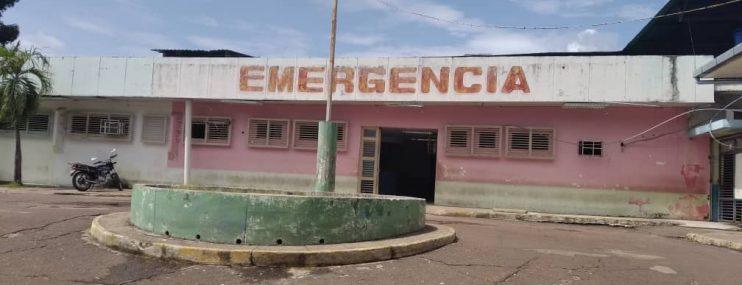 DETENIDO DE POLIAMAZONAS ES INGRESADO AL HOSPITAL DR. JOSÉ G. HERNÁNDEZ