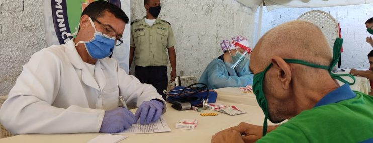 Carabobo: Jornada médico asistencial para privados de libertad en Poliguacara