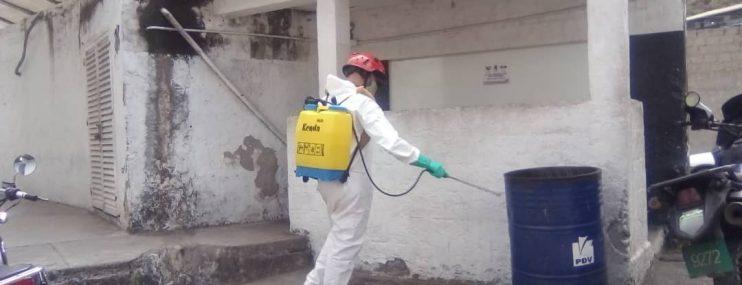 Autoridades de Polisalias realizaron toma de temperatura y despistaje de COVID-19 en calabozos