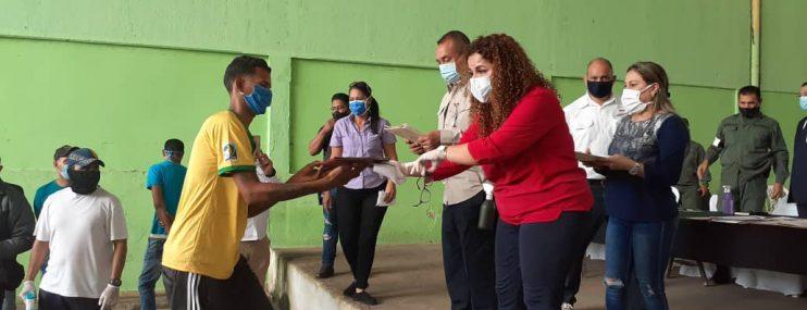 120 reclusos de la cárcel de Vista Hermosa en Bolívar recibieron beneficio del MPPSP