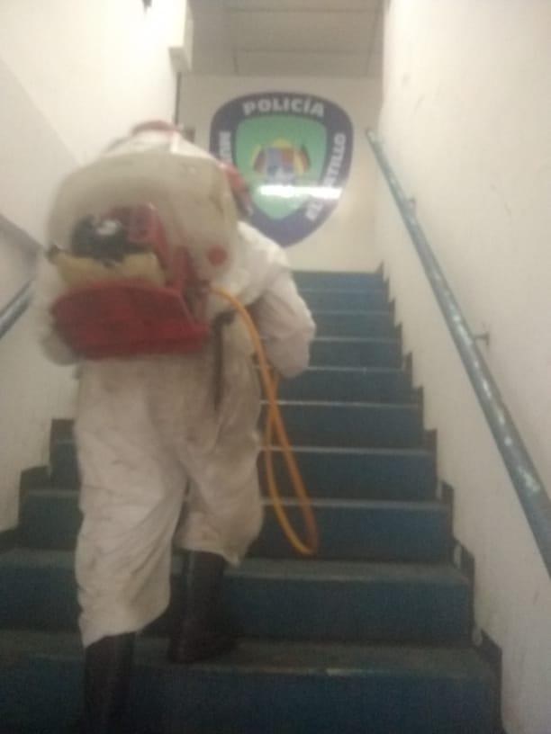 Caracas: Realizaron jornada de desinfección en Polihatillo