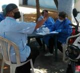 Nueva Esparta: Desinfectan y realizan pruebas de COVID-19 en el Retén de Los Cocos