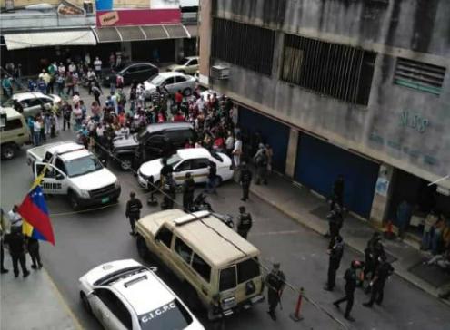 70 detenidos en Cicpc tuvieron audiencia preliminar