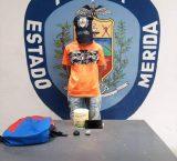 Detenido adolescente al intentar pasar presunta droga al retén policial de Ejido, municipio Campo Elías de Mérida