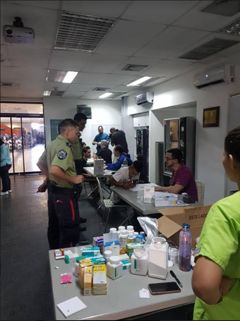 En comisarías policiales de Caracas de lo menos que se habla es del VIH