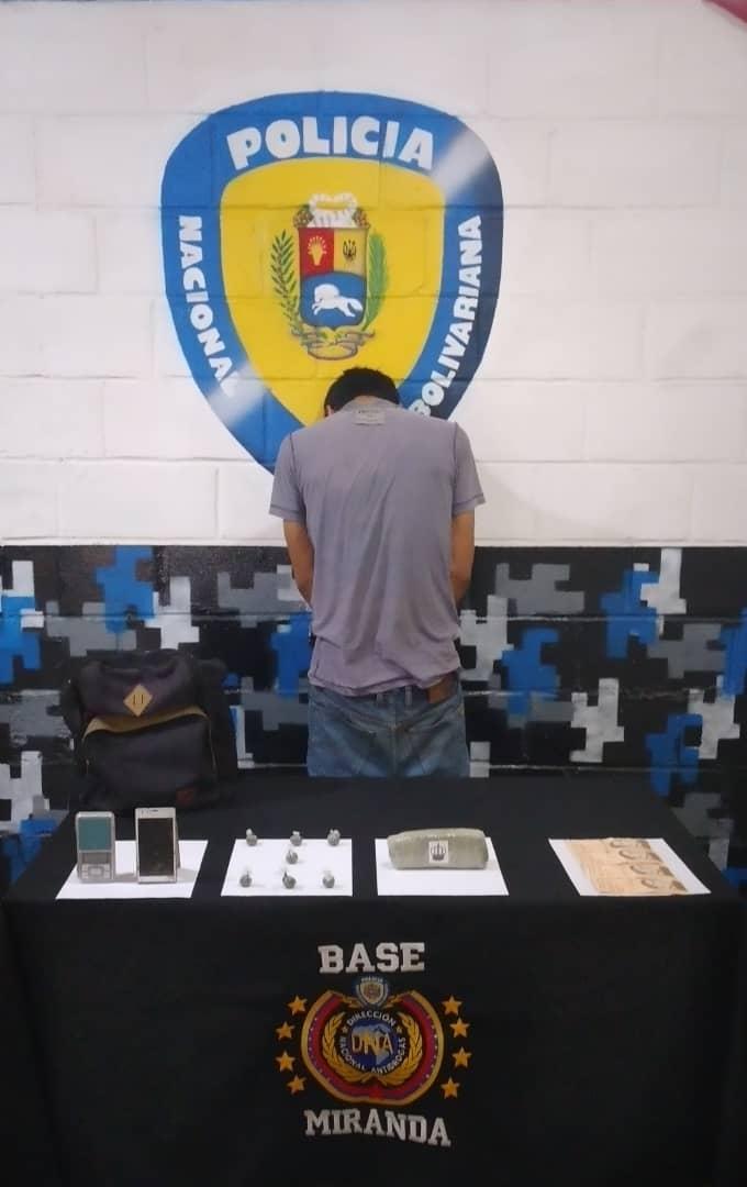 PNB recaptura en Guarenas a fugado de Polichacao