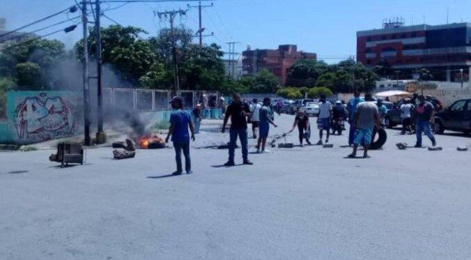 Privan de libertad a seis manifestantes en protestas por combustible en Nueva Esparta