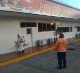 Policía municipal de Maturín asegura que desinfectó calabozos