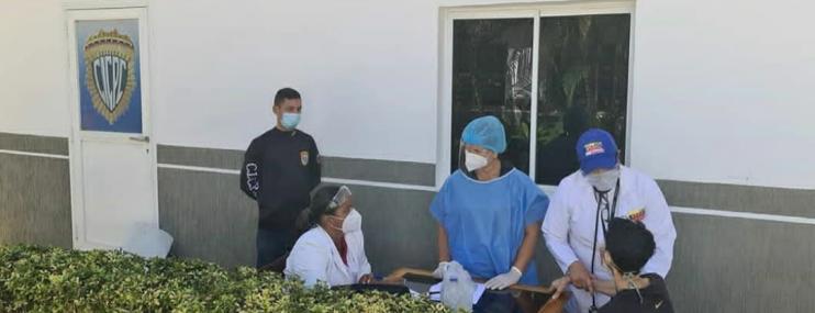 Nueva Esparta: Realizan despistajes de tuberculosis en CDP del Cicpc en Porlamar
