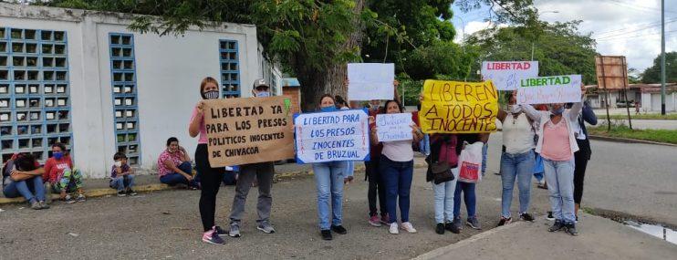 Yaracuy: Exigen liberación de 11 detenidos en protestas por servicios públicos ocurridas en Chivacoa en septiembre pasado