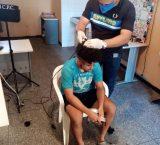 Amazonas: En la sede del CICPC realizaron corte de cabello a los privados de libertad